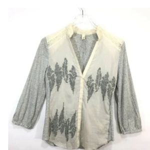 Anthropologie Tiny Women's Button Up Shirt